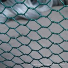 Malha de arame hexagonal / malha de arame galvanizado