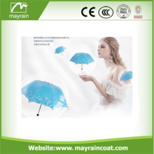 Rainbow โปสการ์ด OEM Logo Stamp Umbrella