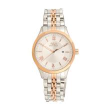 Hot Sales Fashion Watch Relógio de aço inoxidável de quartzo