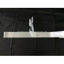 Tela de estiramiento reflectante de un solo lado de plata