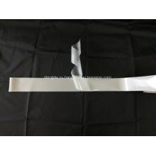 Серебряная односторонняя светоотражающая эластичная ткань
