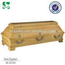 high quality pecan cheap coffin