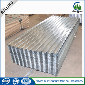 Gi Corrugated Metal Roofing Sheet con pintura