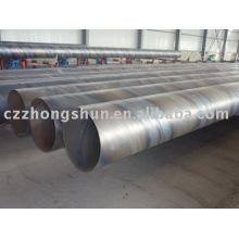 Tuyau d'acier en spirale / tuyau de soudage Q235 SSAW / tuyau d'acier en spirale