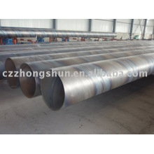 Tubo de aço espiral / Q235 tubo de soldagem SSAW / espiral tubo de aço