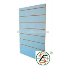 slat wall mdf board 1220*2440*18mm with 0.8mm alu bar