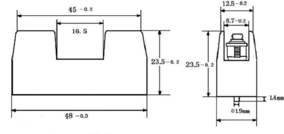 6.3x30 mm fuse holder