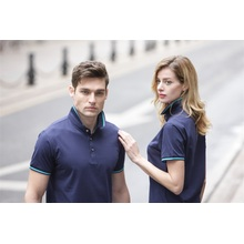 Polo style collar shirts