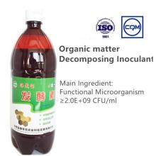Inoculante orgánico de alta calidad que descompone la materia