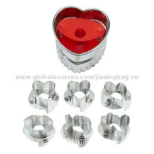 Multi-shaped Cookie Cutters, Heart-shaped, Various Pattern, OEM Orders Welcomed