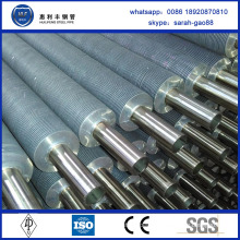 High Frequency stainless steel fined tubes radiator