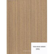 шпон из искусственного тикового дерева