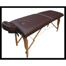 Table de massage en bois à 2 sections (MT-5) Acupuncture