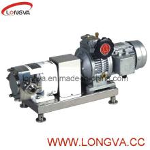 Pompe à rotor sanitaire en acier inoxydable