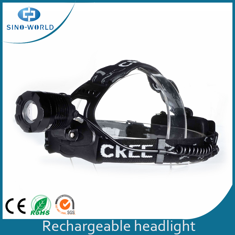 Headlamp With Led Indicate Button
