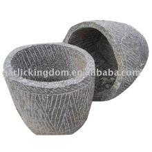 Antique Limestone Garden Pot