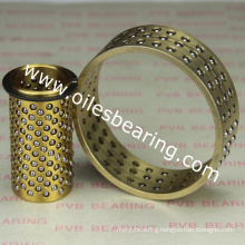 Aluminum steel ball bearings,206.71.063.160 ball cage guide bearing,FZP POM Plastic Shell Ball Bearing
