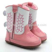 Schöne Mädchen Schuhe rosa Baby Stiefel Outdoor Kinder Stiefel Großhandel