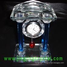 Nice Crystal Glass Table Clock