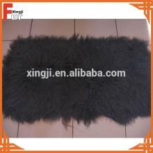 Cheveux longs Bouclés fourrure d'agneau mongole