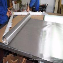 Malla de acero inoxidable / malla de alambre de acero inoxidable 304 316 se utiliza para la filtración / química / caucho