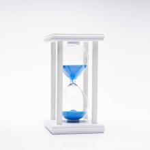Marca FQ arena temporizador de arena vacía 30 minutos de reloj de arena de madera