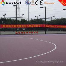 Pp Non Toxic Interlocking Sports Flooring , Futsal Playground For Outdoor
