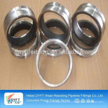 concrete pump weld-on collars pipe flanges