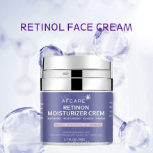 Private Label Snail Facial Cream Anti Aging Anti Wrinkle Deep Moisturizing Retinol Face Cream