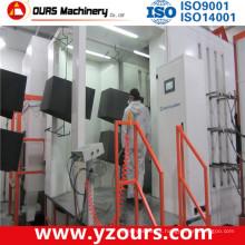 Cabine de pulverizador de aço inoxidável do revestimento do pó do material / PP
