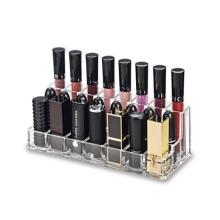 Acrylic Combination Lip Gloss and Lipstick Organizer