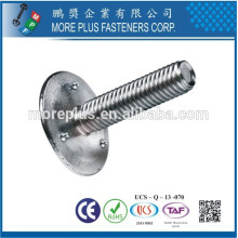 Made In Taiwan Stainless Steel DIN15237 Elevator Fastener Bucket Bolts