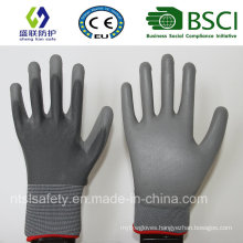 13G Gray Polyester Liner with PU Coating (SL-PU202 (4))
