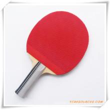 Promotion Tischtennisschläger OS08001, erhältlich in Kunststoff-Paket, eine Seite schwarz und eine Seite rot