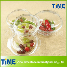 Heat Resistant Glass Casserole Pot