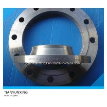 En1092-1 Tipo11 P245gh aço carbono solda pescoço Flange