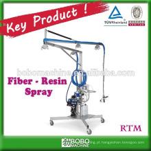 Máquina de pulverização de resina de fibra industrial de alto desempenho