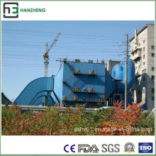 Amplio espacio de tratamiento de flujo de aire electrostático lateral colector-Eaf