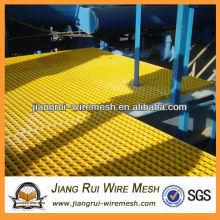 Grade quadrada da fibra de vidro / grade de fibra de vidro que grade / grade de fibra de vidro para o assoalho