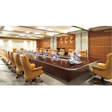 Высококачественный современный деревянный стол для конференций (HF-MH7001)