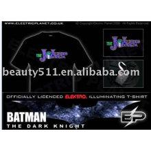 Nueva camiseta del EL de la iluminación de la manera E001