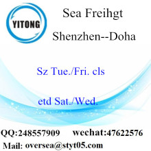 Shenzhen Port LCL Consolidation to Doha