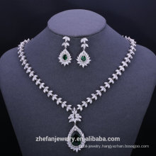luxury jewelry gold plated jewelry sets  Private label jewerly luxury jewelry gold plated jewelry sets zircon beads