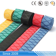 Anti-slip pattern shrinkable tube insulation heat shrink sleeves for fishing rod