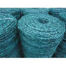 Cerca de malla de alambre Razpr de púas (PVC)