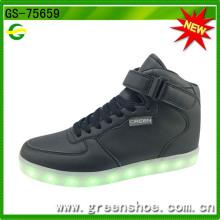 Sapatos de luz LED