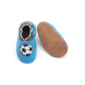 Soft Sole Baby Leather Prewalker Crib Shoes