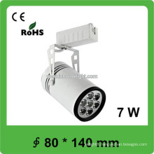 7W Exhibition Hall COB Track Light Led with Pure White