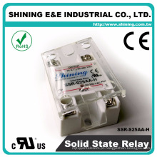 SSR-S25AA-H Shining 25A AC para AC UL High Power 240V Relé de saída