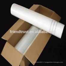 Nettoyant en fibre de verre revêtu pour construction